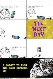 Rage Meme Comics - rage comics charging your phone meme collection