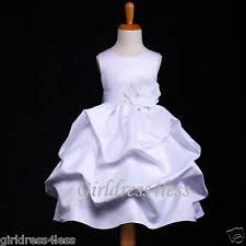 satin baby u0026 toddler christening dress ebay