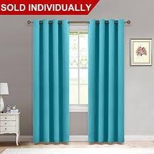 dark turquoise curtains amazon com