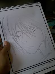 l death note sketch my draw 1 by jhardy2010 on deviantart