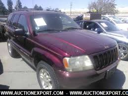 1999 jeep grand limited interior used 1999 jeep grand limited car for sale at auctionexport