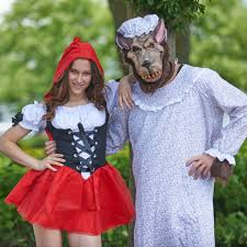 Granny Halloween Costumes Granny Wolf Costume Big Bad Wolf Morph Costumes Uk