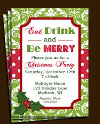 Christmas Carols Invitation Cards Christmas Party Invitations Wording U2013 Gangcraft Net