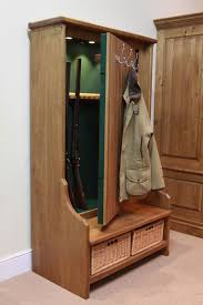 hall tree gun cabinet and 19 other places to store and conceal