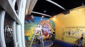 Mural Artist by El Topo Mexican Mural Artist Timelapse Youtube
