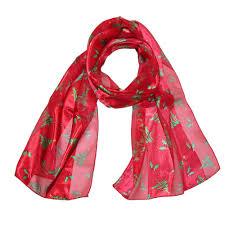 ctm women u0027s christmas tree holiday scarf clothing shoes