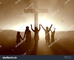 kids cross jesus christ stock illustration 57829294 shutterstock
