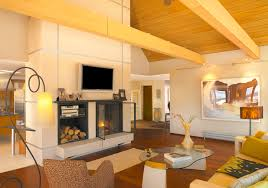 Decorative Beams Decorative Wall Mounted Living Room Contemporary With Vaulted