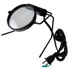 Desk Light With Magnifying Glass Dual Zoom Illuminated Lighted Magnifier Magnifying Glass Table