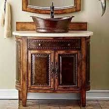 western home decor ideas bathroom mirror with metal frame a