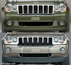 2007 jeep grand grille jeep grand wk grilles