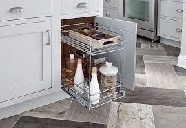 closetmaid 2 tier kitchen cabinet pull out basket u0026 reviews wayfair