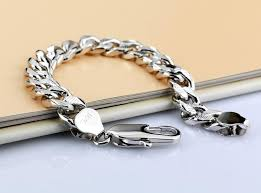 men jewelry bracelet images Silver bralcet men real silver bracelet 925 sterling silver jpg