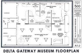 Exhibit Floor Plan Exhibits Delta Gateway Museum