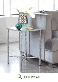 Silver Accent Table Accent Table Coaster 950374