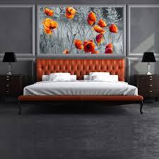 Poppy Home Decor Poppy Flower Wall Mural Black White Wallpaper Bedroom Photo Home