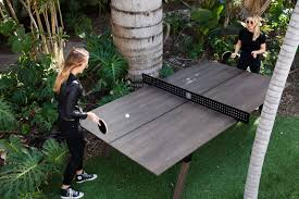 used outdoor ping pong table woolsey outdoor ping pong table gadget flow