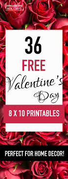 cheap valentines day decorations 36 free valentines day wall printables seasonal home decor