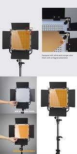 amazon com pergear 576 led cri 90 photo video studio light