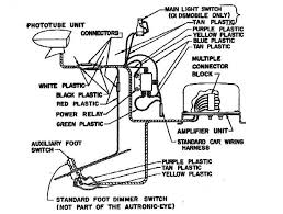 autronic eye installation wiring diagram for the 1955 chevrolet