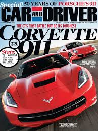 car and driver magazine november 2013 vehicle technology