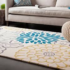 Designer Modern Rugs New Turquoise Area Rug 5x8 Medallion Contemporary Rugs 8x11