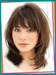 5 medium length hairstyles for round faces medium short