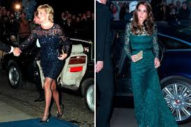 kate middleton and princess diana 18 times they basically wore