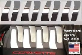 corvette stainless creations corvette c7 2014 2018 polished stainless 8 pc engine cover kit