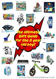 the ultimate gift guide for the 5 year boy the cards we drew