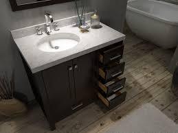 73 Inch Vanity Top Ace Cambridge 37 Inch Single Sink Bathroom Vanity Set Left Offset