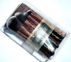 haysparkle makeup revolution pro go mini makeup brush set review