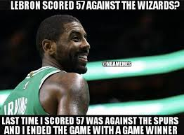 Kyrie Irving Memes - nba memes kyrie irving be like celtics nation facebook