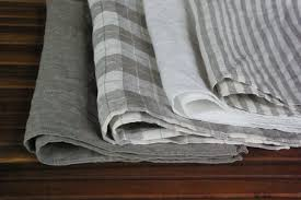linen kitchen towels dish towels set of 4 white gray plain