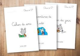 Pages de garde des cahiers 20182019  Le blog de Chat noir