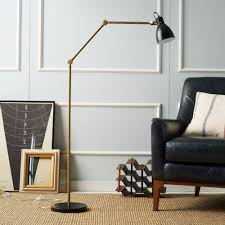 use black floor lamps in your contemporary home design