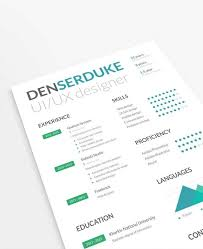 free business resume template 10 creative resume free psd templates phire base