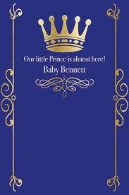 blue backdrop custom baby shower prince royal blue backdrop any text birthday