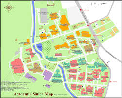 Taiwan Map Asia by The Map Of Academia Sinica