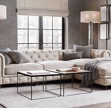 Restoration Hardware Kensington Leather Sofa Rh Kensington Sofa Aecagra Org