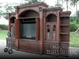 wall unit warehouse large entertainment center furniture wood