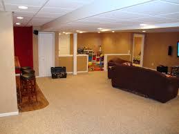 elegant simple basement finishing ideas simple finished basement