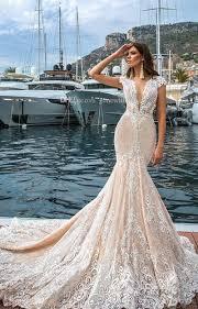 wedding dress murah blush illusion wedding dresses real photo court bridal dress