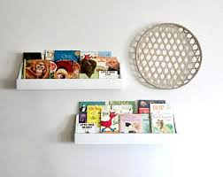 Wall Shelf For Kids Room by Kids Book Shelf Etsy