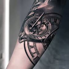 top 50 best arm tattoos for bicep designs and ideas clocks