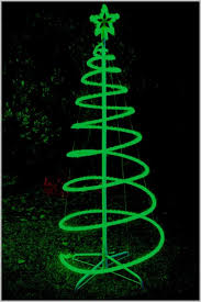 green spiral lighted tree spiral lighted outdoor christmas tree industrial table ls