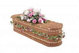 wicker casket wicker willow coffins caskets swindon hillier funeral service