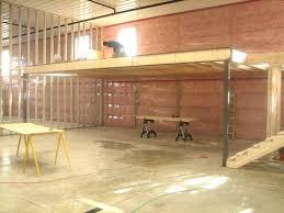 building a loft in garage building garage storage loft garage loft project build apartment