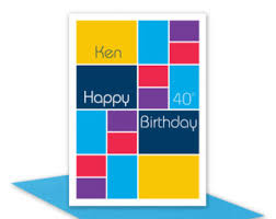 3d 21st happy birthday card for boy or personalised edit