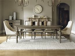 Country Dining Room Furniture Sets This Gray Dining Room Blends Country And Traditional Styles